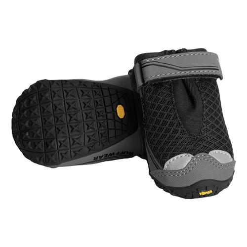 Ruffwear Grip-Trex Pairs - 1.5in. Dog Boots Obsidian_black