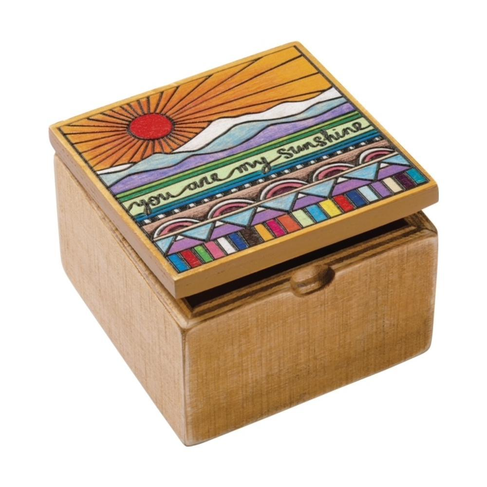 Primitives By Kathy Hinged Box - You Are My Sunshine