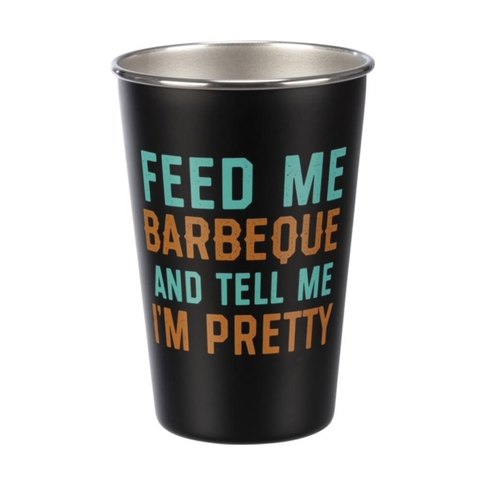 Primitives By Kathy Pint - Feed Me Barbecue And Tell Me I ' M Pretty
