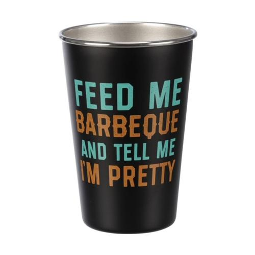 Primitives by Kathy Pint - Feed Me Barbecue and Tell Me I'm Pretty