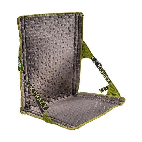 Crazy Creek HEX 2.0 LongBack Chair Olive_slt_grey