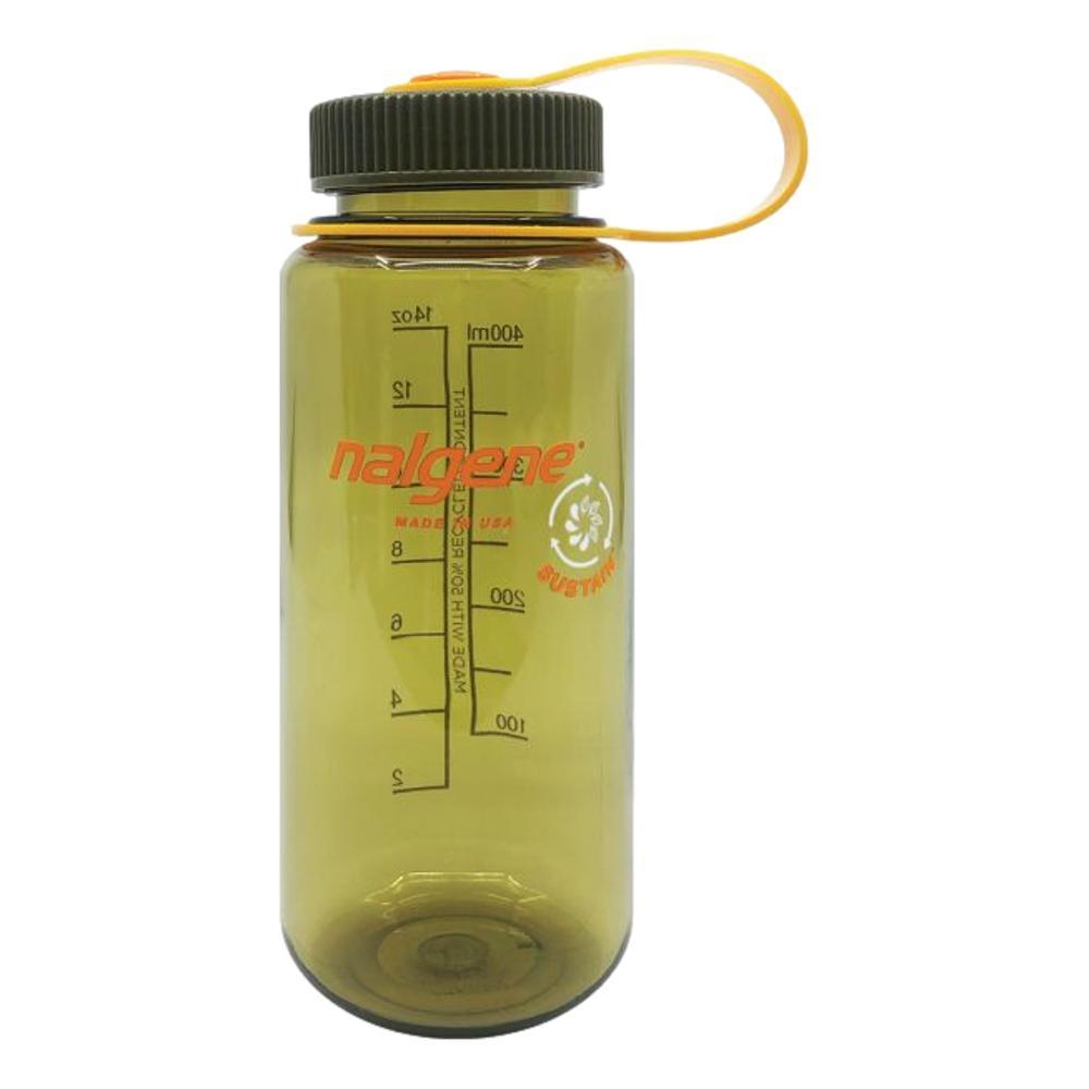 Nalgene Wide Mouth Sustain Water Bottle - 16oz OLIVE