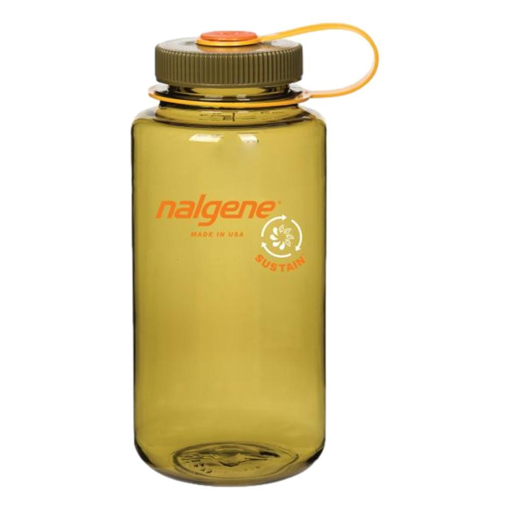 Nalgene Wide Mouth Sustain Water Bottle - 32oz OLIVE
