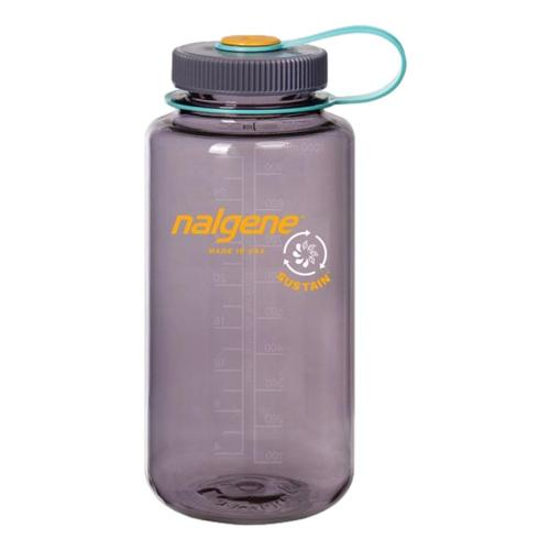 Nalgene Wide Mouth Sustain Water Bottle - 32oz Aubergine