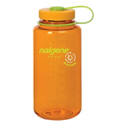 Nalgene Wide Mouth Sustain Water Bottle - 32oz Clementine