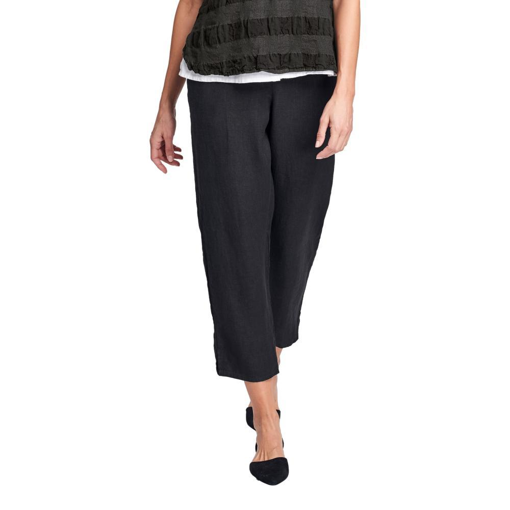 FLAX Women's Pocketed Ankle Pant BLACKHANDK