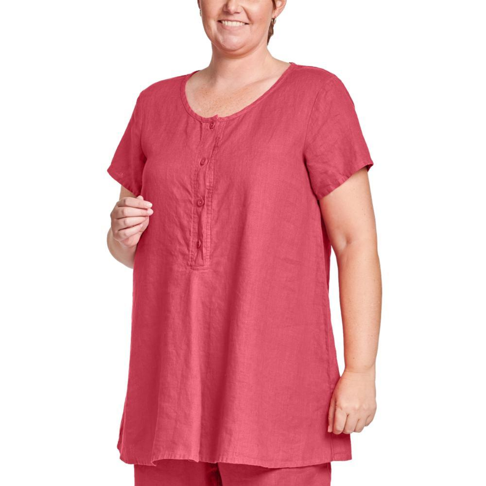 FLAX Women's Cool Tunic RHUBARB