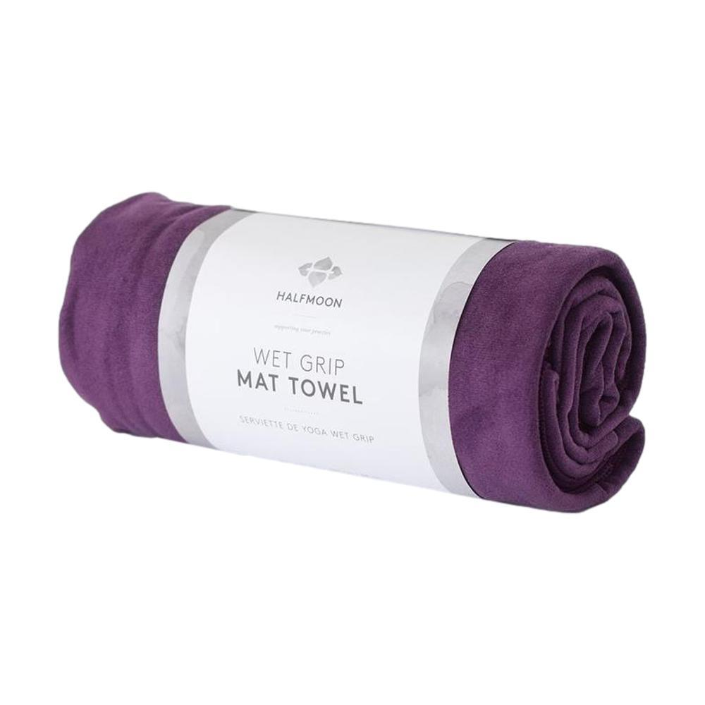 Halfmoon Gripster Mat Towel PLUM
