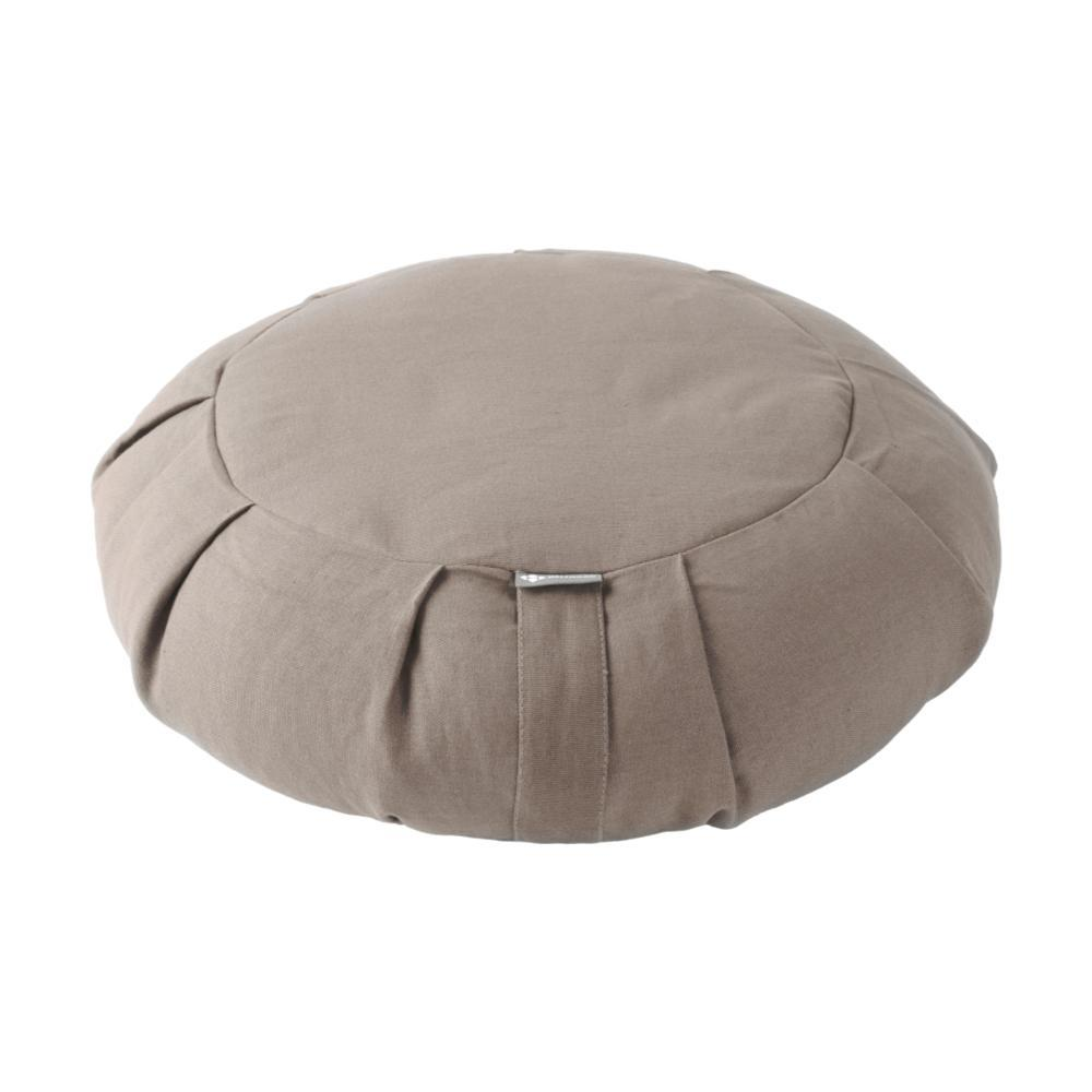 Halfmoon Round Meditation Cushion OATMEAL