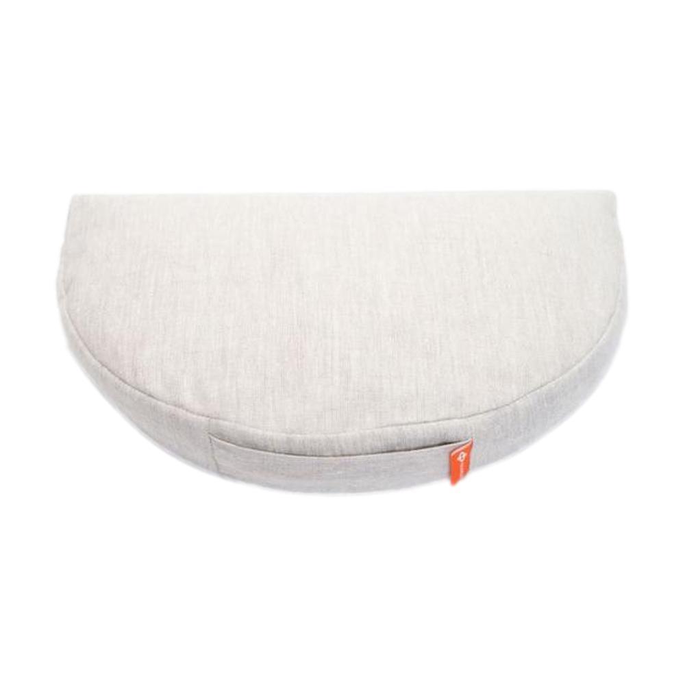 Halfmoon Om Meditation Cushion - Limited Edition NATURAL_LINEN