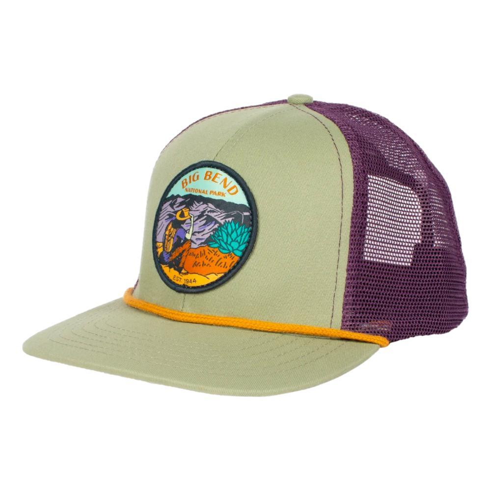 Sendero Provisions Co. Big Bend National Park Meshback Hat SAGE