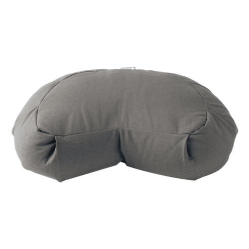 Halfmoon Crescent Meditation Cushion Fossil_grey