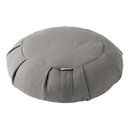 Halfmoon Round Meditation Cushion Fossil_grey