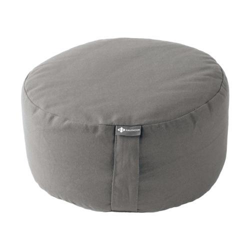 Halfmoon Mod Meditation Cushion Fossil_grey