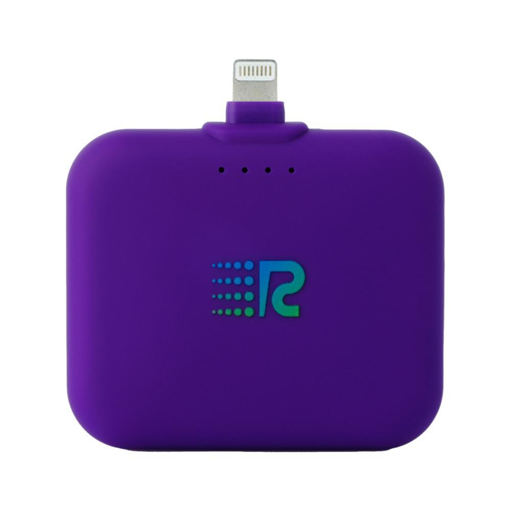 Rush Charge Air Portable Charger - Lightning Cable PURPLE