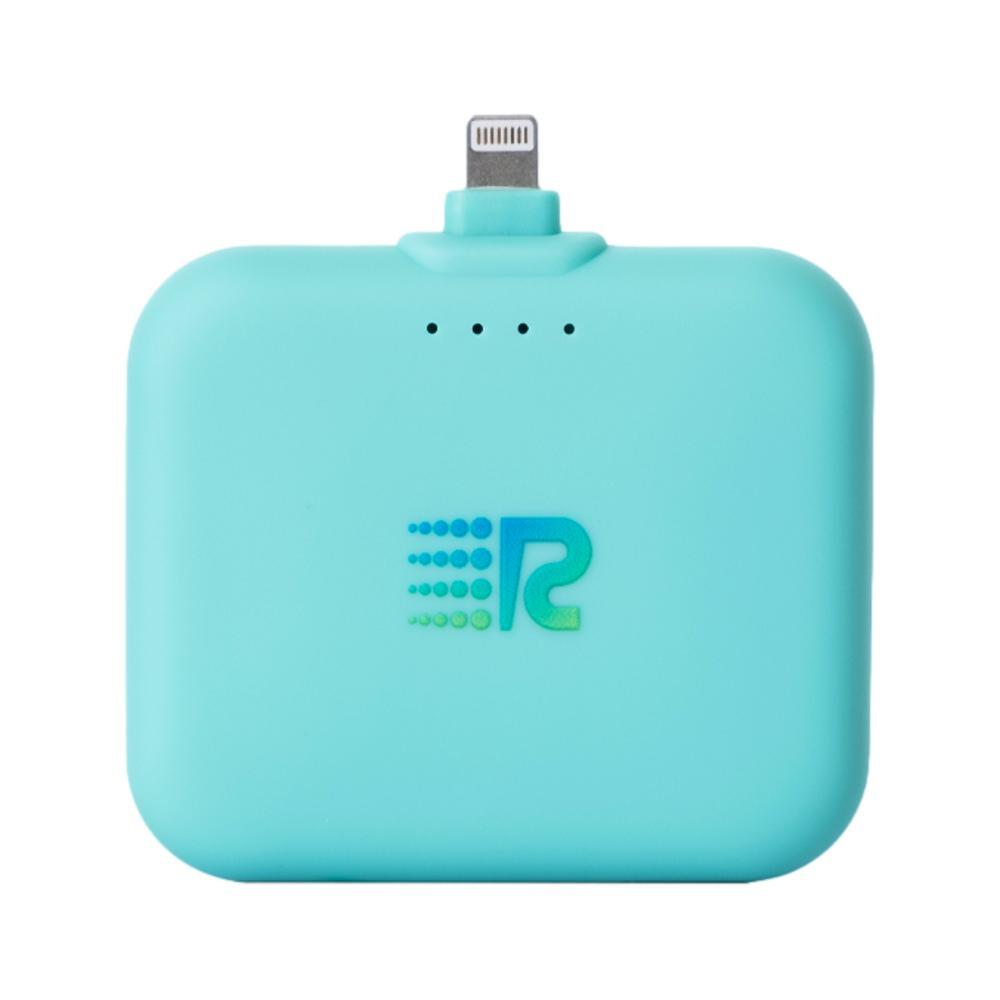 Rush Charge Air Portable Charger - Lightning Cable TEAL