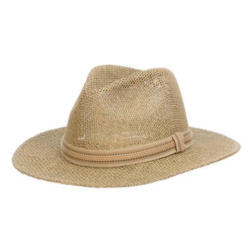 Dorfman Pacific Men's Latitude Hat Natural