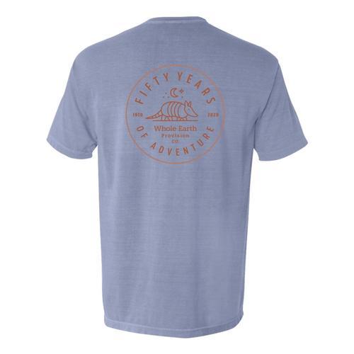 Whole Earth Unisex 50th Anniversary T-Shirt Armadillo