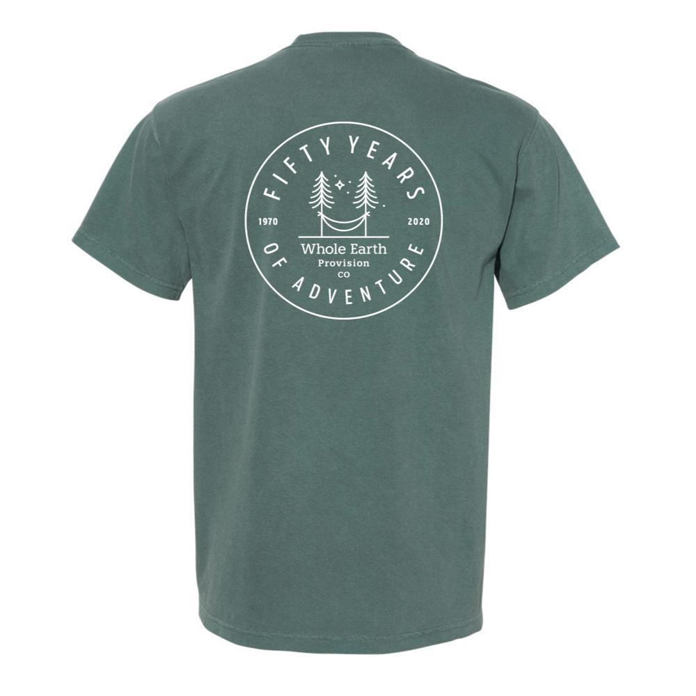 Whole Earth Unisex 50th Anniversary T-Shirt HAMMOCK