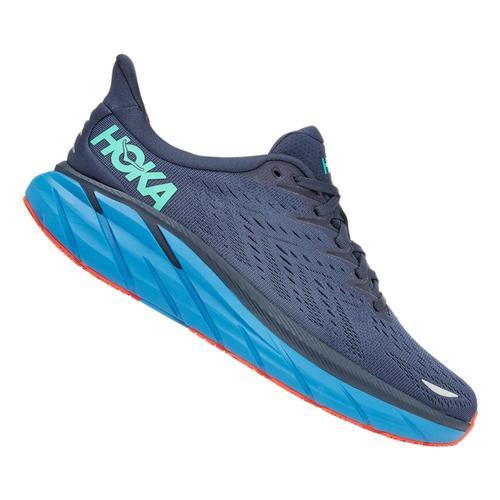 Hoka One One Men's Clifton 8 Running Shoes - Wide Ospc.Vblu_osvb
