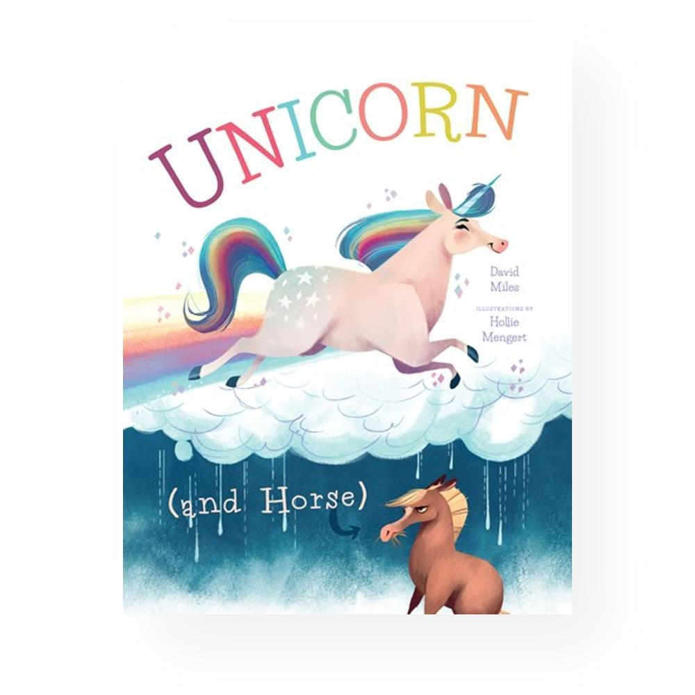 Unicorn And Horse By David W.Miles