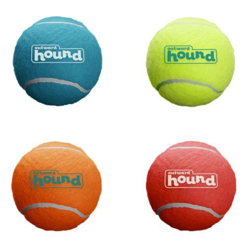 Outward Hound Squeaker Ballz 4 Pack - Small  .