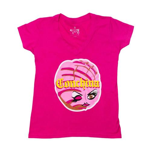 BarbacoApparel Women's Conchina Tee Pink