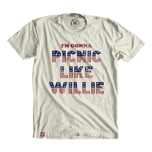 Tumbleweed Texstyles Unisex Picnic Like Willie T-Shirt