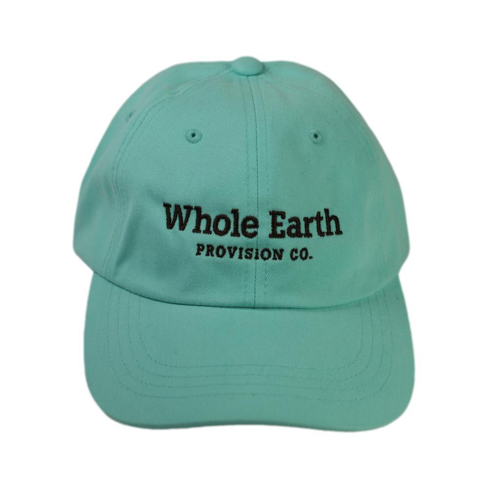 Whole Earth Embroidered Logo Unstructured Cap DBLUE_6245