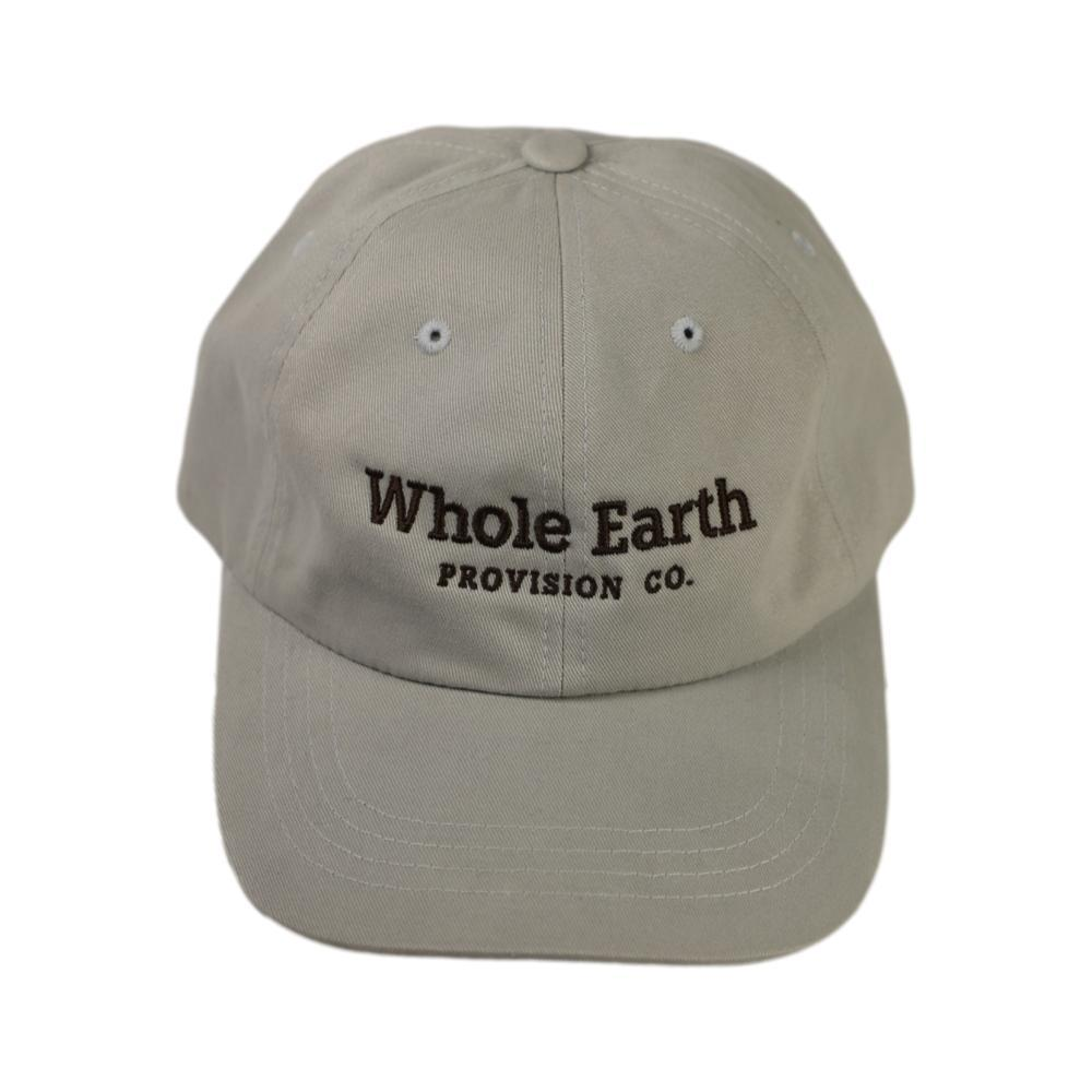 Whole Earth Embroidered Logo Unstructured Cap LTGREY_6245