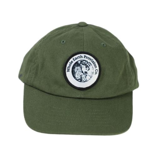 Whole Earth Patch Earth From Space Unstructured Cap Olive_6245