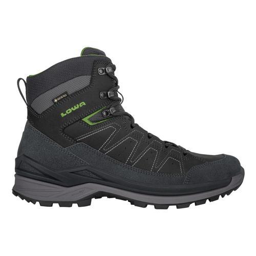 Lowa Men's Toro Evo GTX Mid Hiking Boots Dkgry.Grn