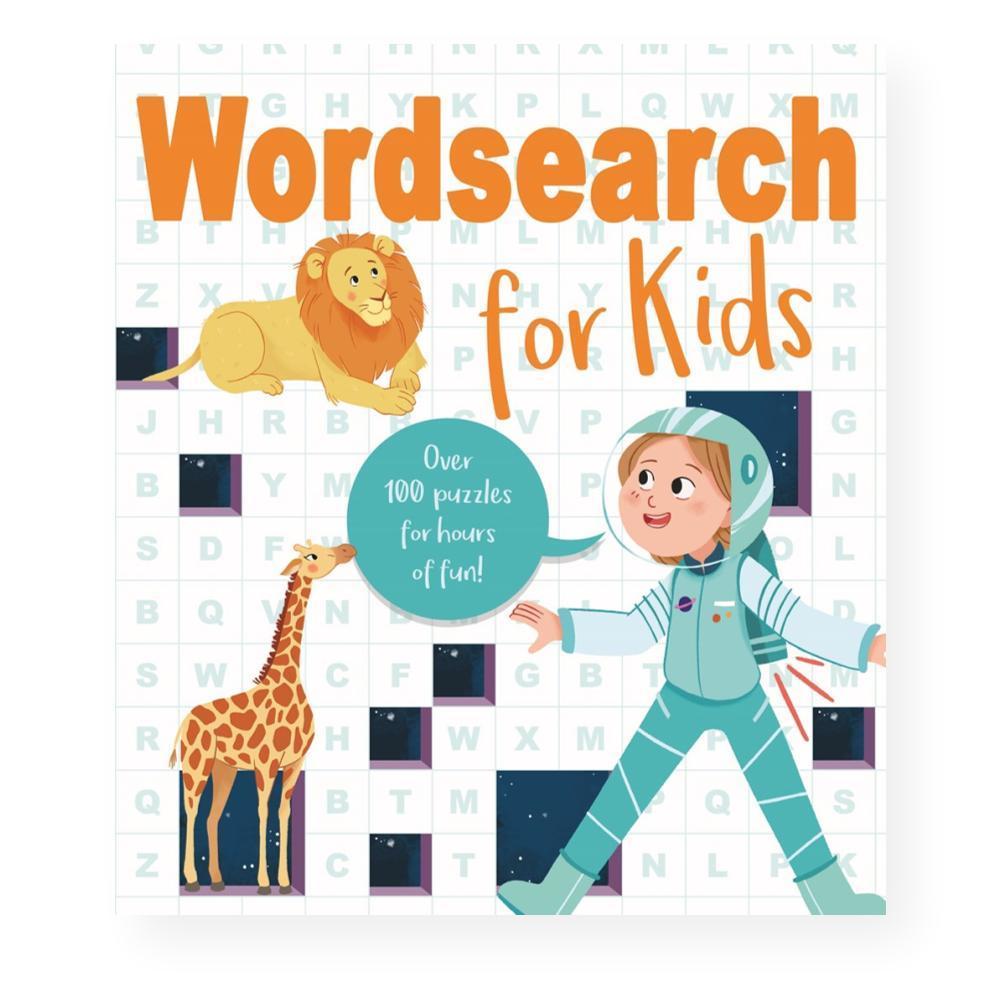 Wordsearch For Kids By Marina Pessarrodona, Ivy Finnegan