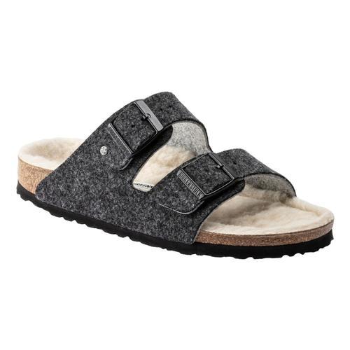 Birkenstock Women's Arizona Wool Felt Sandals - Narrow Anthrc.Wl