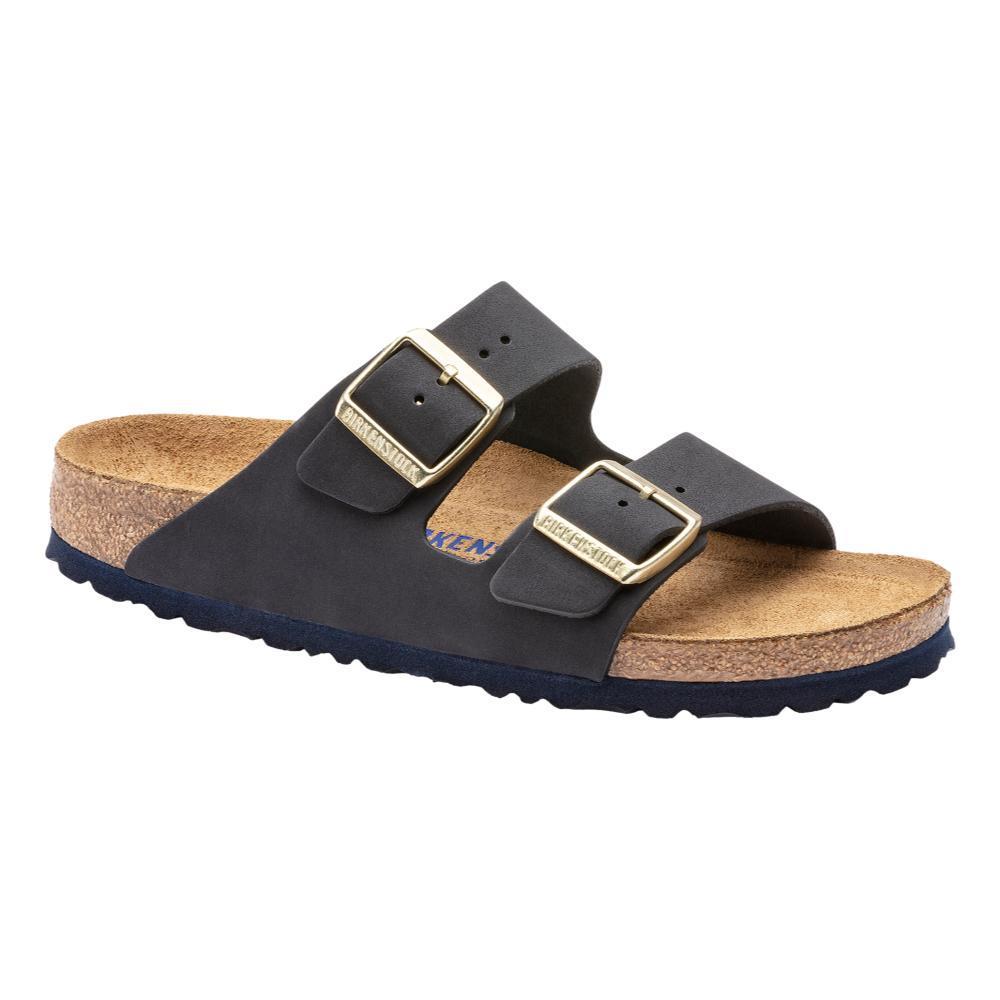 Birkenstock Women's Arizona Soft Footbed Suede Sandals - Narrow MIDNT.NB
