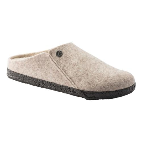 Birkenstock Women's Zermatt Wool Felt Slippers - Narrow Eggnog.Wl