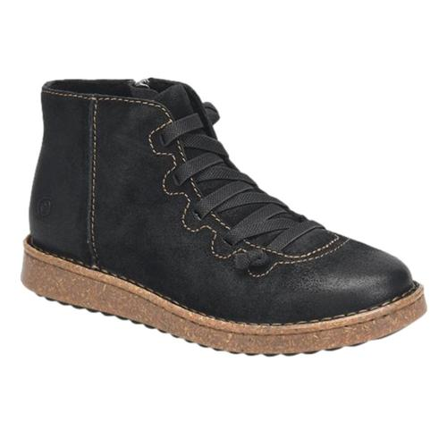 Born Women's Sienna Ankle Boots Blk.Ds