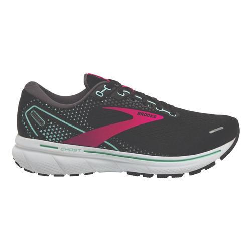 Brooks Women's Ghost 14 Road Running Shoes Blk.Pnk.Yuc_013