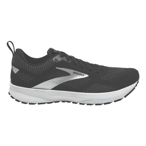 Brooks Women's Revel 5 Road Running Shoes Blk.Mtl.Wht_036