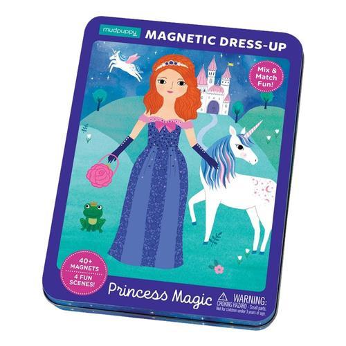 Mudpuppy Princess Magic Magnetic Dress-Up