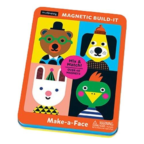Mudpuppy Make-a-Face Magnetic Build-it