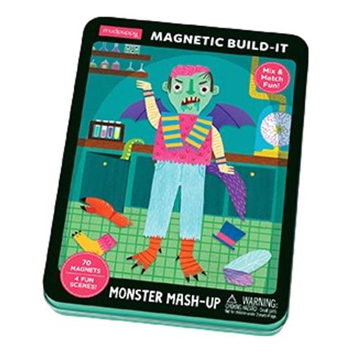 Mudpuppy Monster Mash-Up Magnetic Build-It