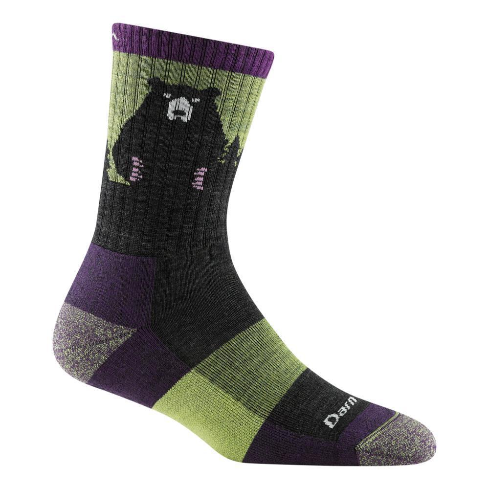 Darn Tough Women's Bear Town Micro Crew Lightweight Hiking Socks LIME