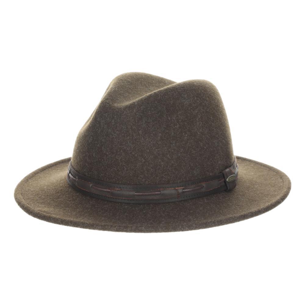 Dorfman Pacific Men's Dunedin Hat CHOCOLATE