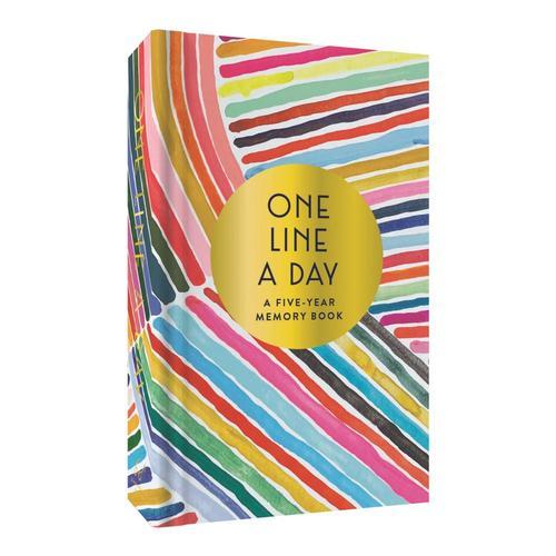 Rainbow One Line a Day by Kindah Khalidy