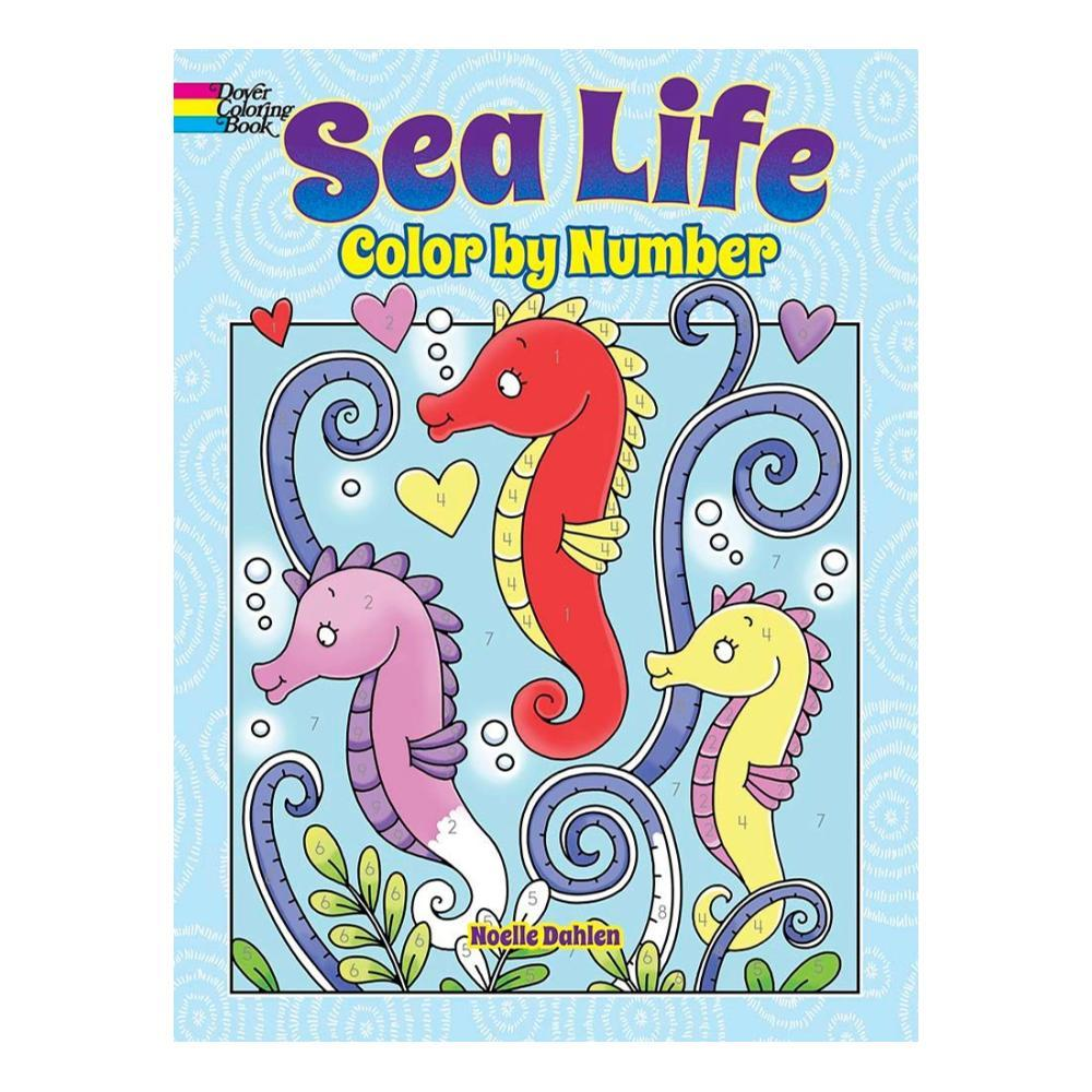 Sea Life Color By Number By Noelle Dahlen