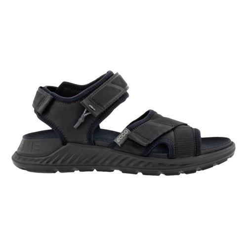 ECCO Men's Exowrap 3 Strap Sandals Black_51052