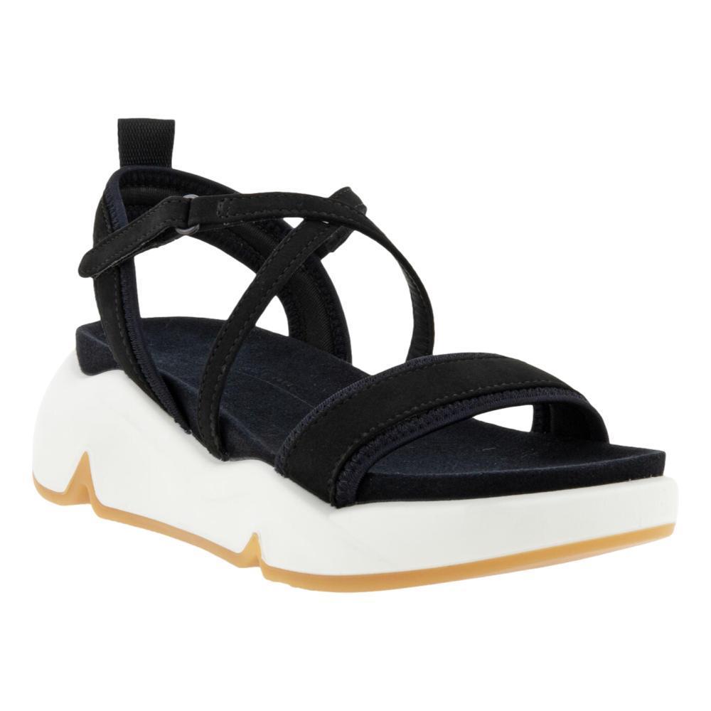 ECCO Women's Chunky Sandals BLACK_51052