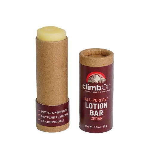 climbOn Lotion Bar Tube 0.5oz - Cedar Cedar