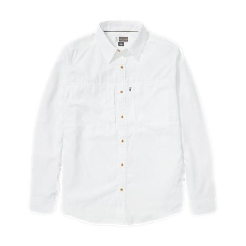 ExOfficio Men's BugsAway Parkes UPF 30 Long Sleeve Shirt White_1000